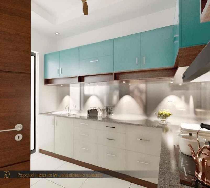 3d Kitchen Interior Design Residential Interior Designers In Chennai