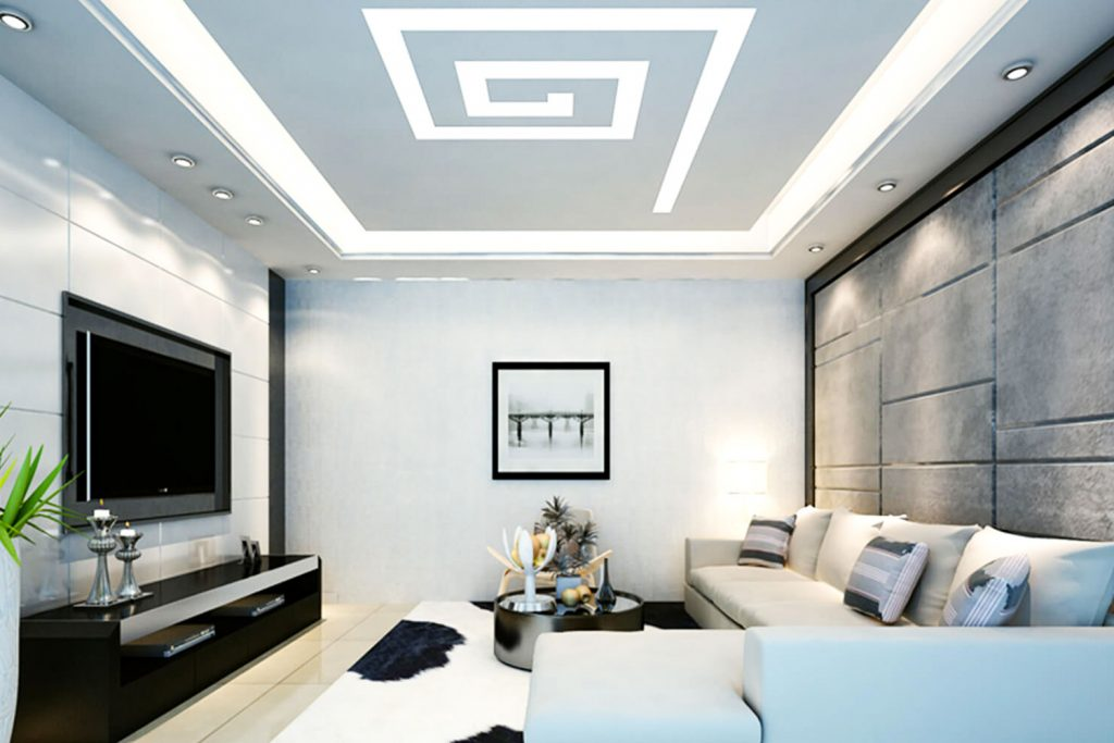 Gypsum-false-ceiling-design