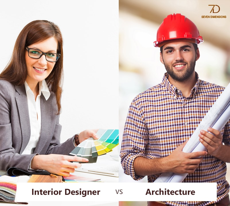 Interior designer vs Architecture